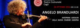 Angelo Branduardi in concerto al Teatro di Cagli
