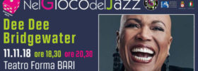 "Dee Dee Bridgewater ""Memphis...Yes, I'm ready"" al Teatro Forma di Bari"