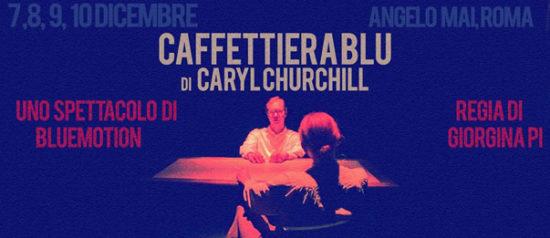 Caffettiera Blu all'Angelo Mai di Roma