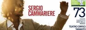 Sergio Cammariere al Teatro Orfeo di Taranto