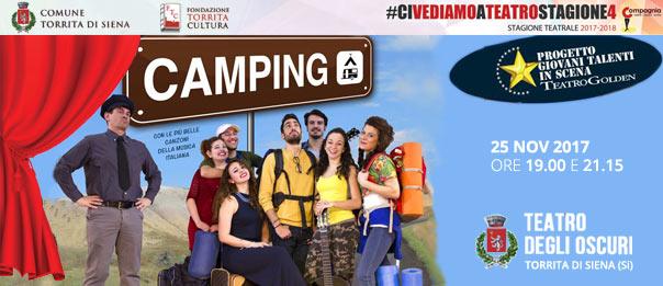 Camping al Teatro degli Oscuri di Torrita di Siena