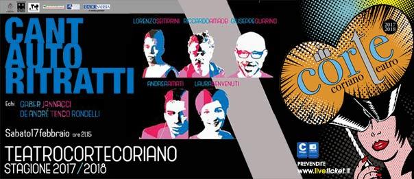 Cantautoritratti al Teatro CorTe di Coriano