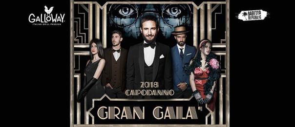 Capodanno 2018 Gran Gala al Galloway Fano