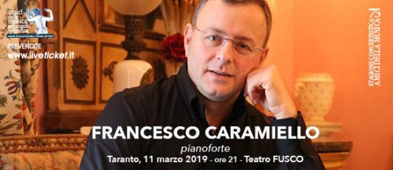 Francesco Caramiello al Teatro Fusco di Taranto