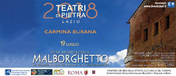 Carmina Burana all'Area Archeologica Malborghetto a Roma