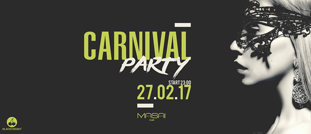 Carnival party al Masai Club Cagli