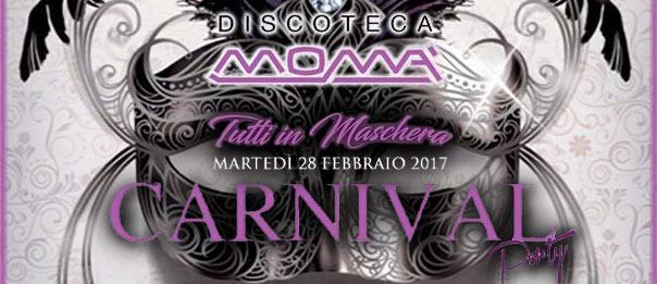 Carnival party alla Discoteca Momà di Collecorvino