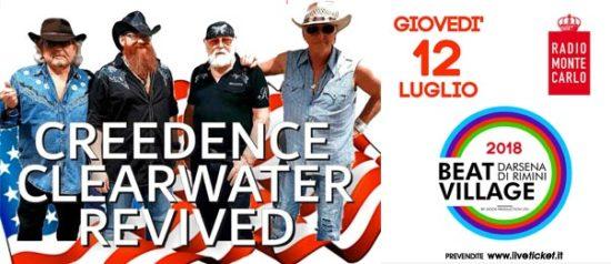 Creedence Clearwater Revived al Beat Village alla Nuova Darsena di Rimini