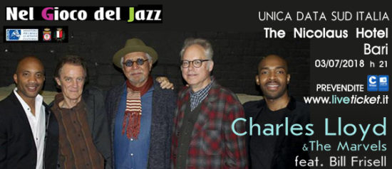 Charles Lloyd & The Marvels feat Bill Frisell