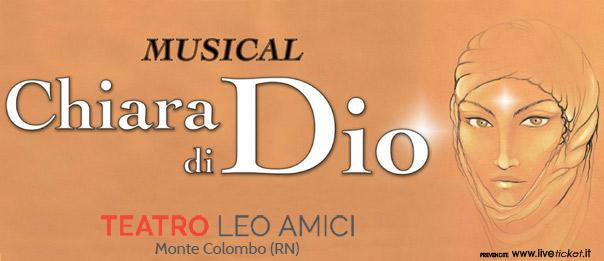 Chiara di Dio - Musical al Teatro Leo Amici al Lago di Monte Colombo
