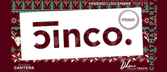 "Cinco e Moo presentano ""A Christmas Chalet"" al Dhome di Trieste"