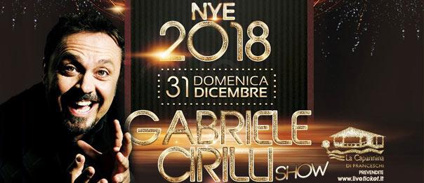 Gabriele Cirilli - Capodanno 2018 alla Capannina di Forte dei Marmi