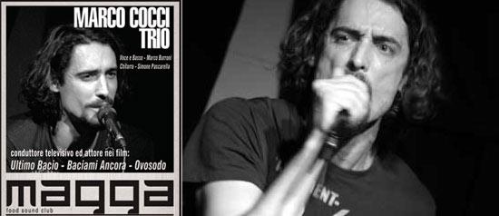 Marco Cocci Trio al Magga Live di Civitanova Marche