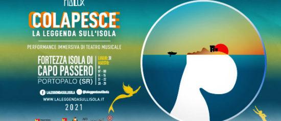 """COLAPESCE """"La leggenda sull'isola"""" nell'Isola di Capo Passero a Portopalo"""