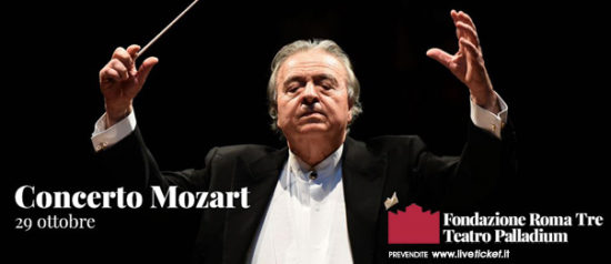 Concerto Mozart al Teatro Palladium a Roma