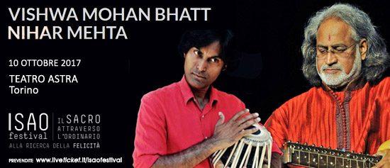 Isao Festival Concerto di musica classica indiana al Teatro Astra di Torino