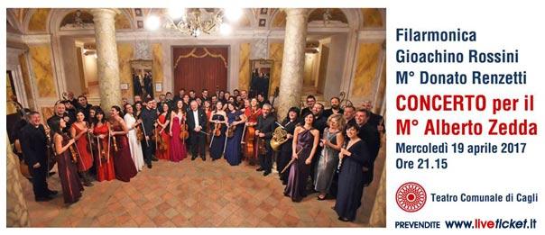 Concerto per il maestro Alberto Zedda al Teatro di Cagli
