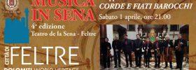 Corde e fiati barocchi al Teatro de la Sena a Feltre
