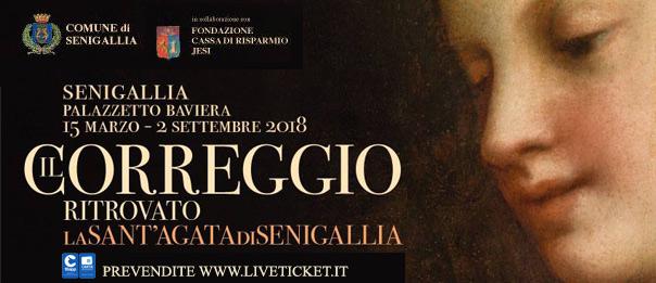 Il Correggio ritrovato: la Sant'Agata di Senigallia al Palazzetto Baviera a Senigallia