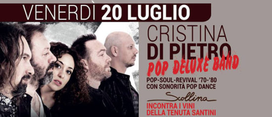 Cristina Di Pietro Live Music alla Tenuta Santini a Passano di Coriano