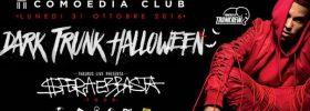 "Dark Trunk Halloween ""Sfera Ebbasta"" al Comoedia Club di San Nicolò"