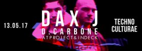 Techno Culturae presenta Dax J + D. Carbone all'Ultra Beat a Monteforte Irpino