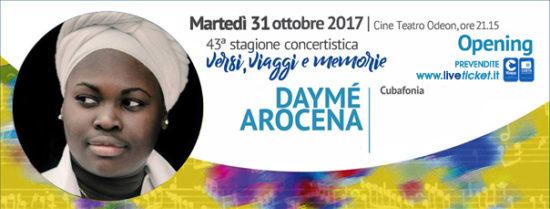 Daymé Arocena al Cine Teatro Odeon a Catania