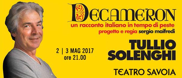 Decameron - un racconto italiano in tempo di peste al Teatro Savoia di Campobasso