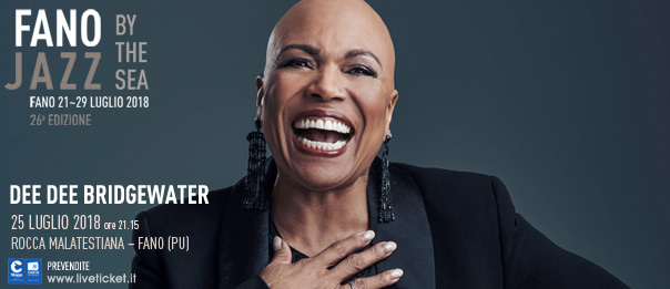 Dee Dee Bridgewater al Fano Jazz by the Sea 2018