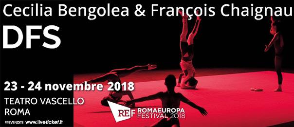"""Romaeuropa Festival 2018 – Cecilia Bengolea & François Chaignaud """"Dfs"""" al Teatro Vascello a Roma"""