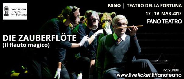 Die zauberflöte (Il flauto magico) al Teatro Della Fortuna a Fano