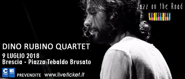 Dino Rubino Quartet al Festival Jazz on the Road a Brescia