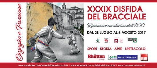 XXXIX Disfida del Bracciale 2017 a Treia