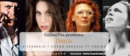 """""""Donia"""" Cadantea al Q77 di Torino"""