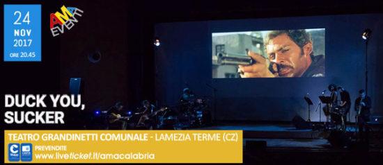 Duck you, sucker al Teatro Grandinetti di Lamezia Terme