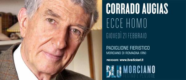 """Corrado Augias """"Ecce Homo. Anatomia di una condanna"""" al Padiglione Fieristico a Morciano di Romagna"""
