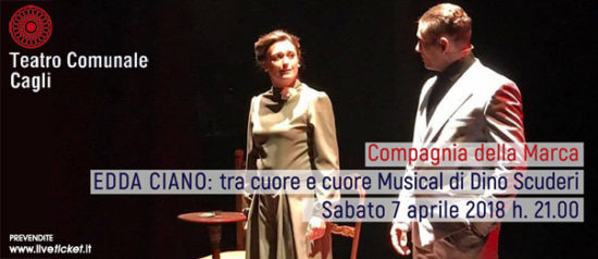 Edda Ciano: tra cuore e cuore al Teatro Comunale di Cagli