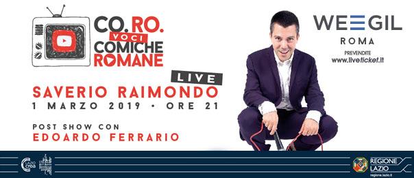 Saverio Raimondo al WEGIL a Roma