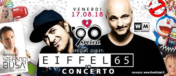 90 Special: Eiffel 65 a La Capannina di Franceschi di Forte dei Marmi