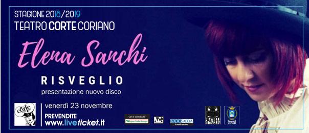 """Elena Sanchi """"Risveglio"""" al Teatro CorTe di Coriano"""