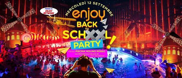 Enjoy back to school party alla Piscina Molino Rosso a Imola