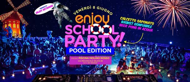Enjoy school party alla Piscina Molino Rosso a Imola