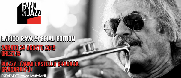 Enrico Rava Special Edition per Fano Jazz a Gradara