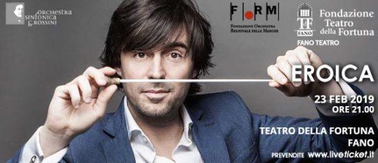 Eroica al Teatro della Fortuna a Fano
