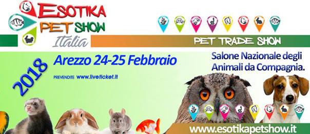 Esotika Expo Arezzo 2018 ad Arezzo Fiere e Congressi
