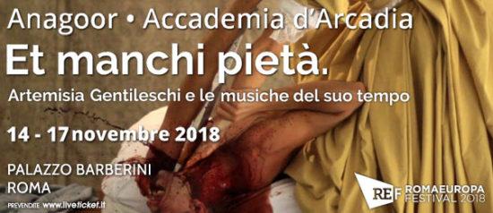 """Romaeuropa Festival 2018 – Anagoor • Accademia d'Arcadia """"Et manchi pietà"""" al Palazzo Barberini a Roma"""