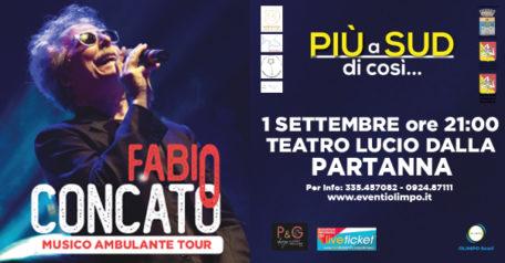 Musico ambulante tour 2021 - Fabio Concato a Partanna