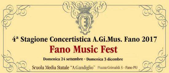 """Fano music fest alla Scuola Media Statale """"Gandiglio"""" a Fano"""