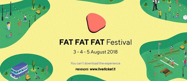 FAT FAT FAT Festival 2018 alla Grancia di Sarrocciano a Corridonia
