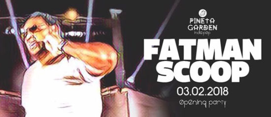 Fatman Scoop - Opening Party al Pineta Garden di Sassocorvaro